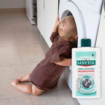 Nuevo limpia lavadoras higienizante